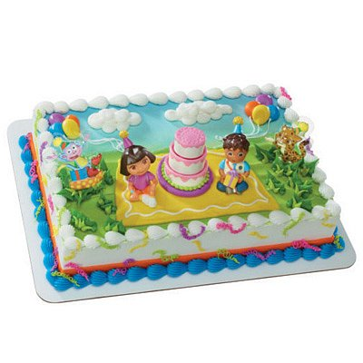 Dora Explorer Birthday Celebration