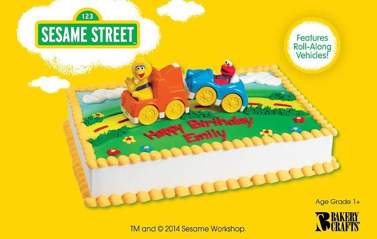 Sesame Street Tow Truck